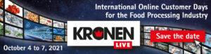 Kronen Online Klantendagen 4 tot 7 oktober 2021
